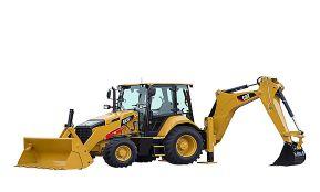 Экскаватор-погрузчик Cat 422F2