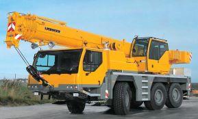 Автокран Liebherr LTM-1045